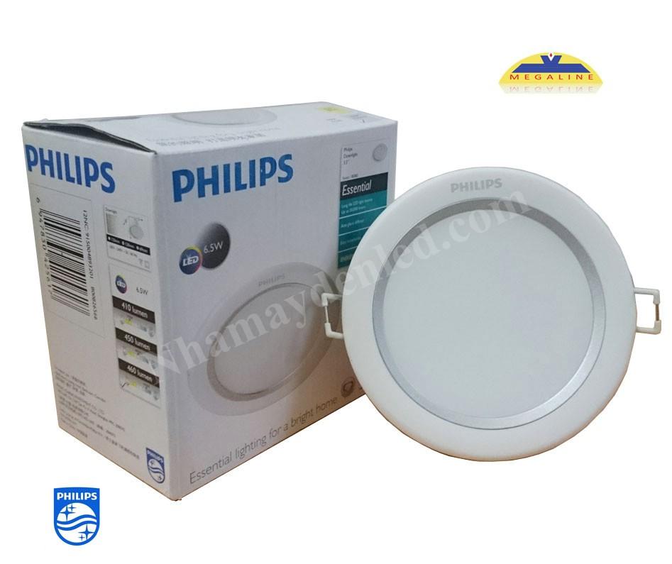 Đèn led âm trần Silver 80081 LED Philips