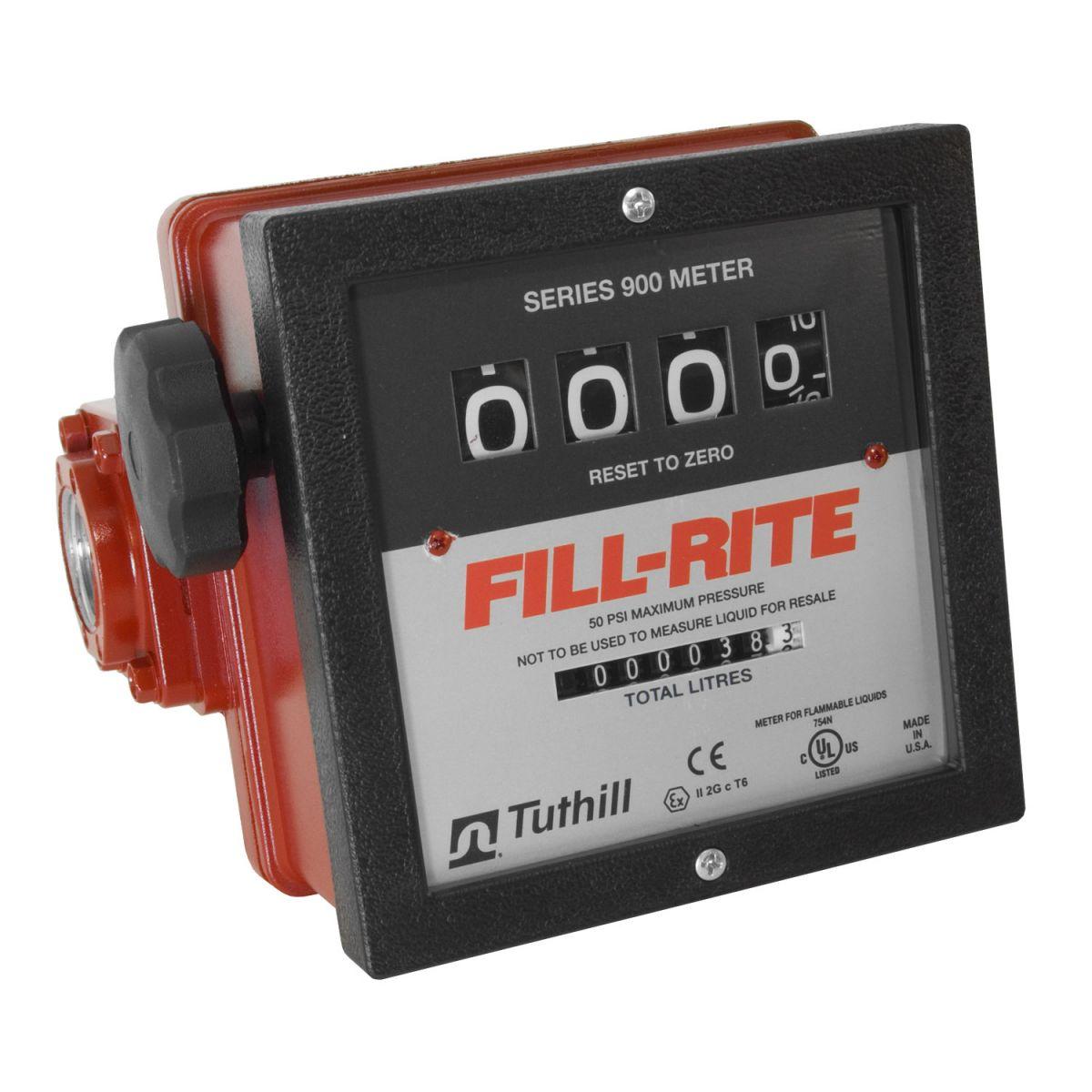 Đồng hồ đo xăng dầu 4 số FILL-RITE