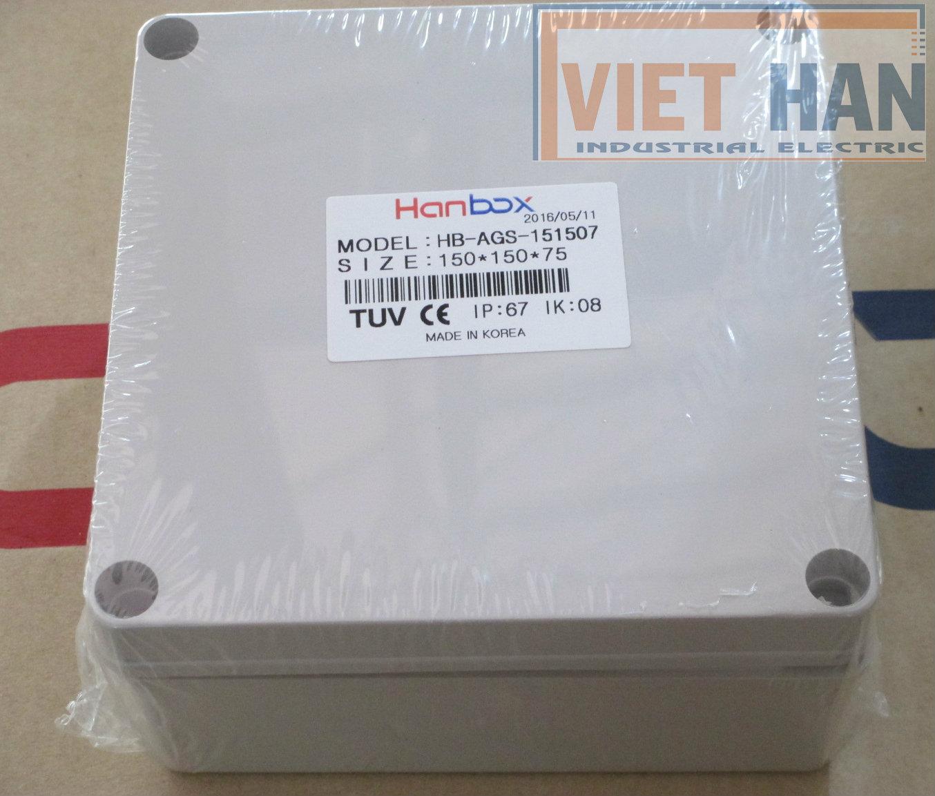 Vỏ tủ điện kín nước Hanbox Korea IP67