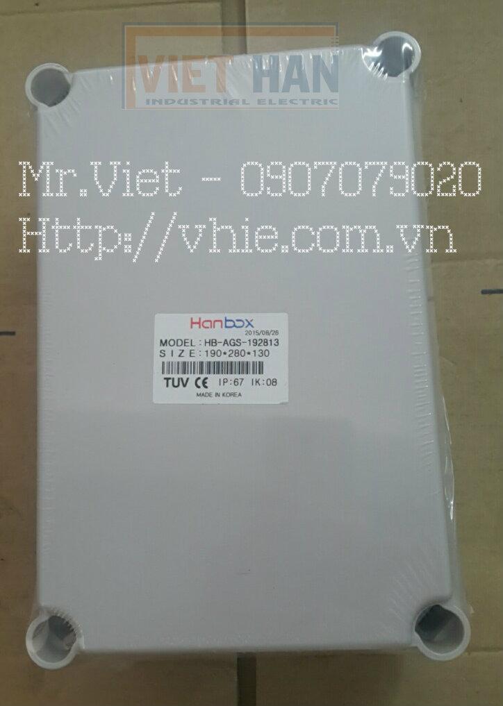 Vỏ tủ điện nhựa kín nước Hàn Quốc IP67