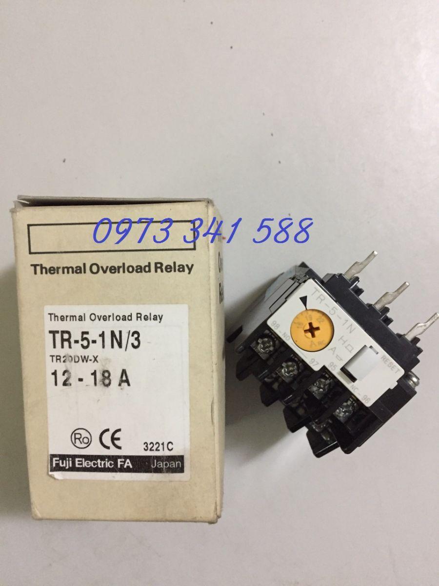 Rơ le nhiệt TR-5-1N/3 12-18A