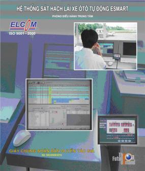 Hệ thống chấm điểm sát hạch lái xe ô tô tự động Esmart