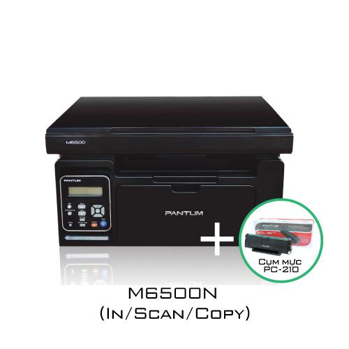 Combo máy in M6500N + mực in PC-210