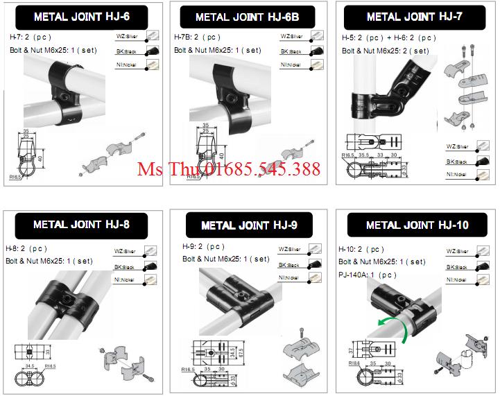 Khớp nối HJ - Metal joint HJ