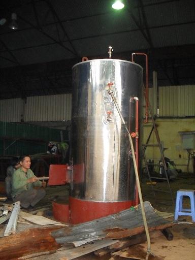 Nồi đun nước nóng đốt đa nhiên liệu