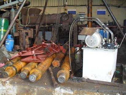 Trạm nguồn thủy lực - kích thủy lực cho lò gạch VSBK