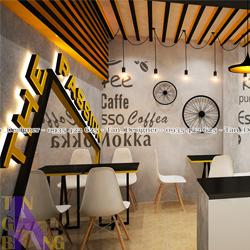 Dịch vụ thiết kế thi công trọn gói quán trà sữa The Passtion