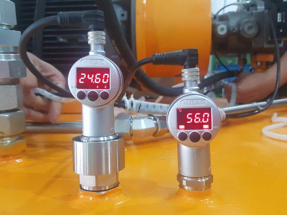 Cảm biến nhiệt độ và cảm biến mức Hydac
