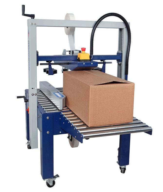 Máy dán thùng carton tự động