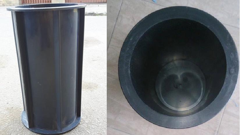 Khuôn bê tông hình trụ bằng nhựa D150XH300