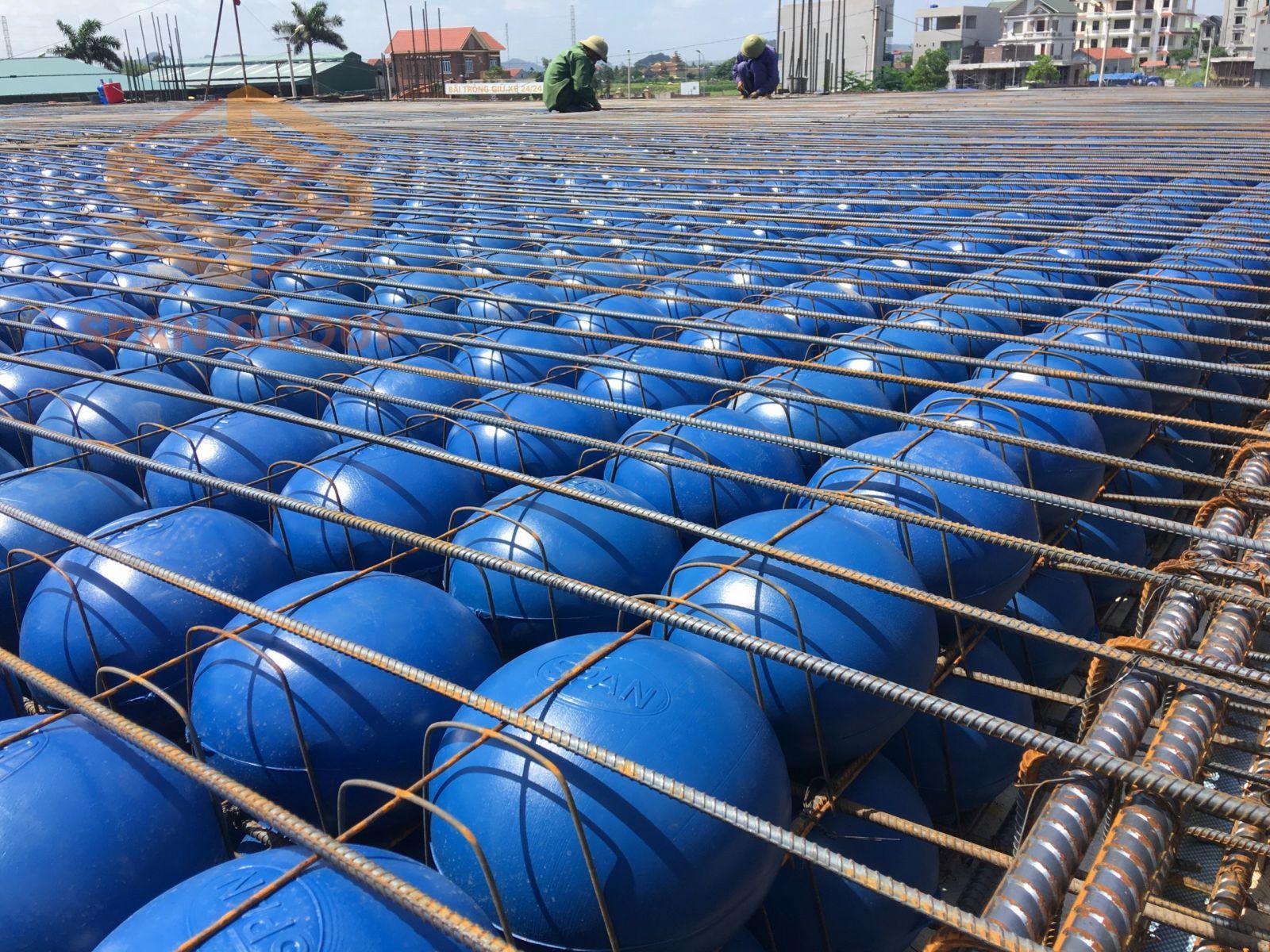 Sàn bóng SPAN - Công nghệ sàn nhẹ SPAN