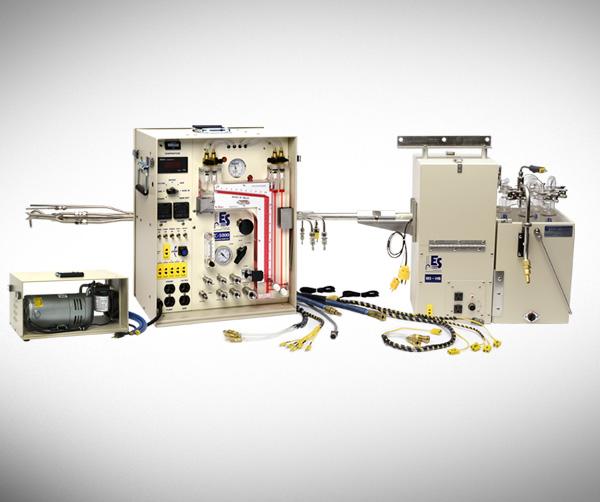 Thiết bị lấy mẫu khí thải và bụi ống khói ISO kinetic