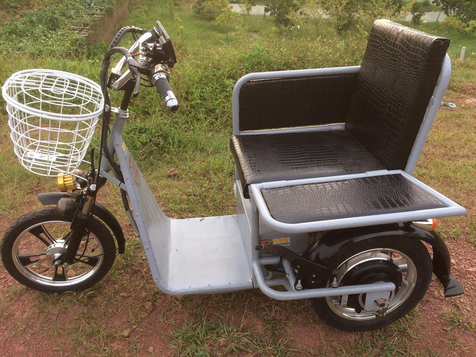 Xe lăn điện cho người khuyết tật - người liệt 2 chân
