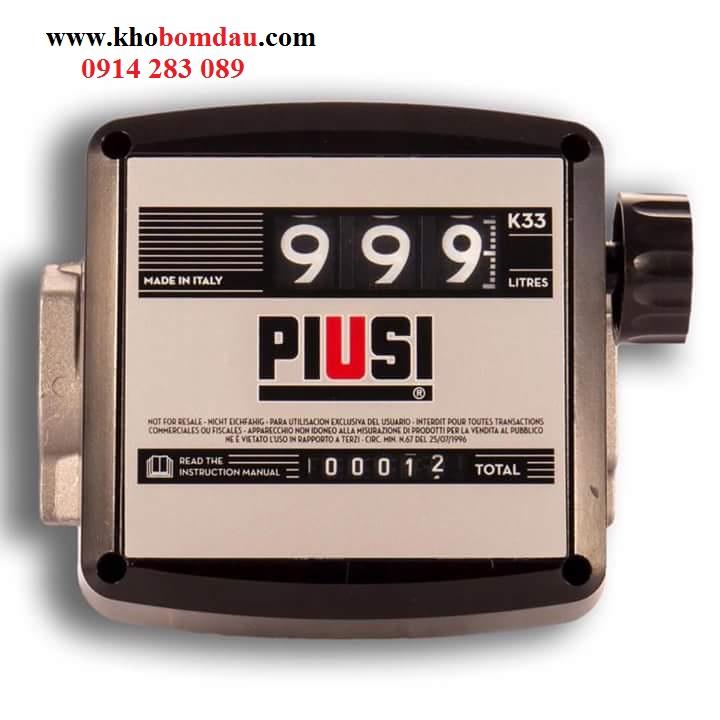 Đồng hồ đo dầu Piusi K33-K44