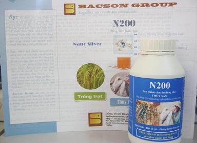 N200 – Sản phẩm chuyên dùng cho thủy sản