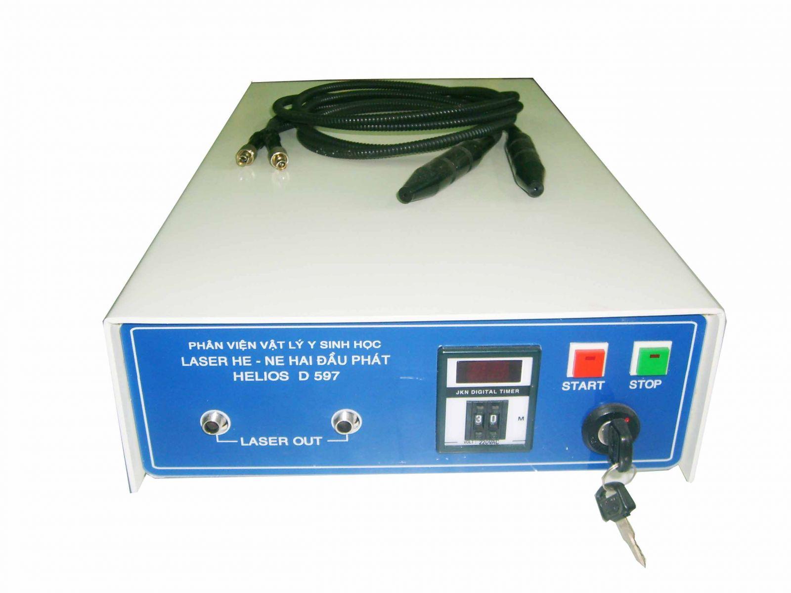 Thiết bị laser He-Ne nội mạch 1 đầu phát D510