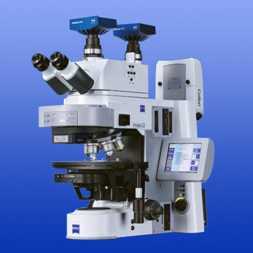 Kính hiển vi đa năng có khả năng nâng cấp huỳnh quang AxioStar