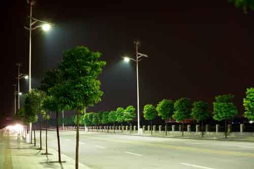 Đèn đường LED công suất cao