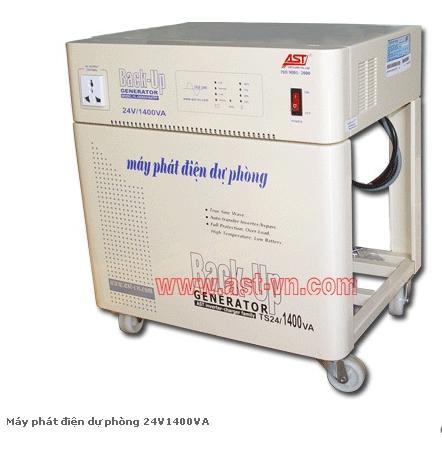 Máy phát điện dự phòng 24V1400VA