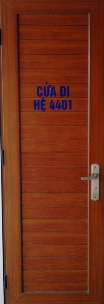 Cửa đi hệ 4401 Việt Pháp