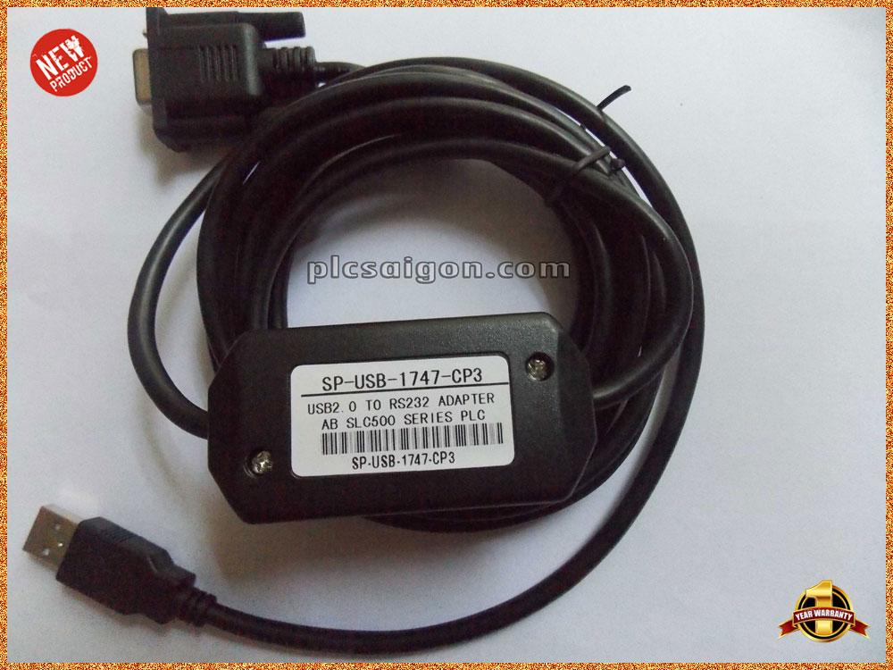 Cáp lập trình PLC ALLEN BRADLEY USB/1747-CP3