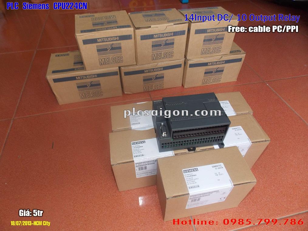 Cung cấp PLC Siemens CPU224CN AC/DC/RELAY