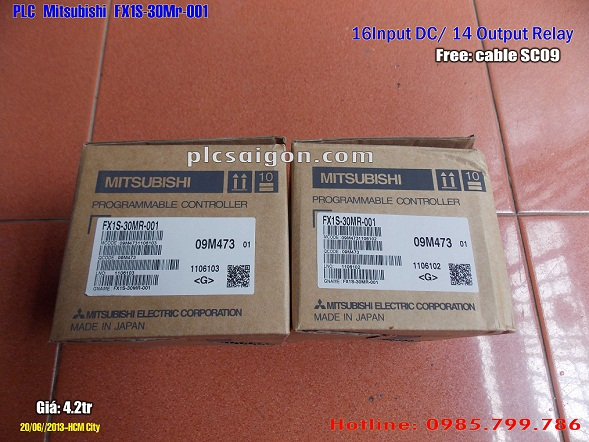 Cung cấp PLC Mitsubishi FX1S 30mr