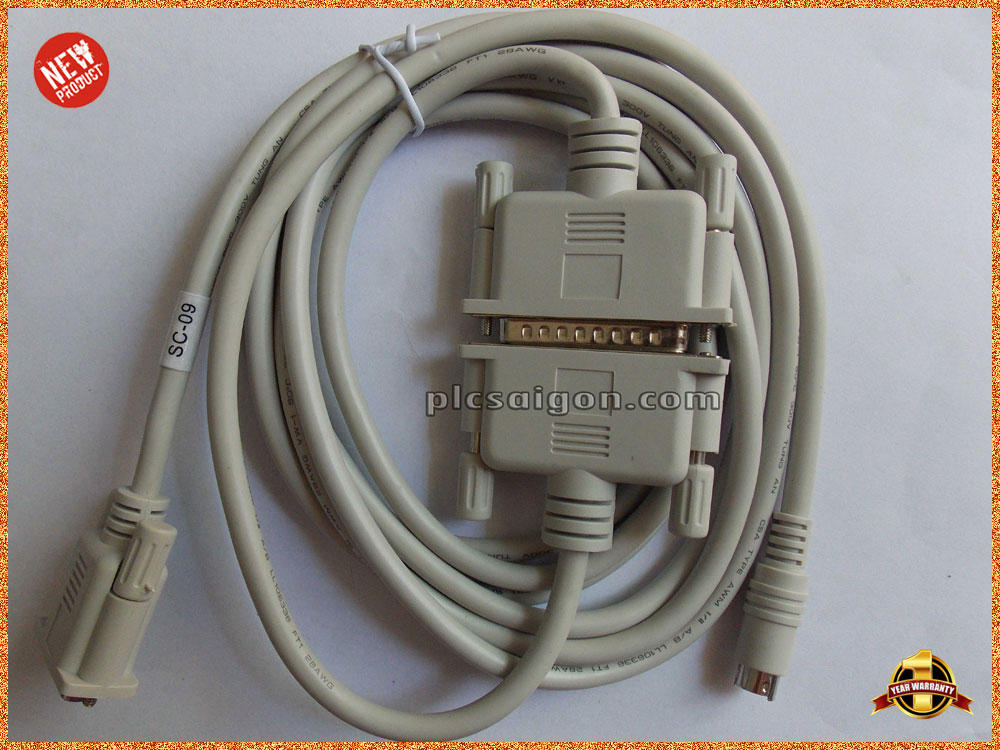 Cáp lập trình PLC Mitsubishi PC/SC09