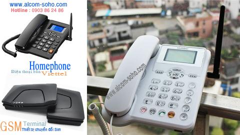 Điện thoại cố định không dây dùng SIM GSM 900 /1800Mhz FWP