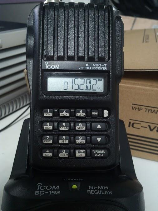 Thiết bị bộ đàm viễn thông ICOM - V8