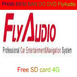 Phần mềm bản đồ dẫn đường cho DVD FlyAudio