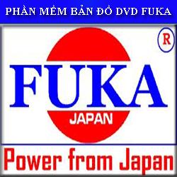 Phần mềm bản đồ dẫn đường cho DVD Fuka