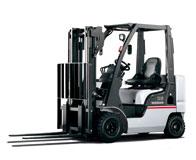 Xe nâng Nissan động cơ diesel trọng tải 1-7 tấn