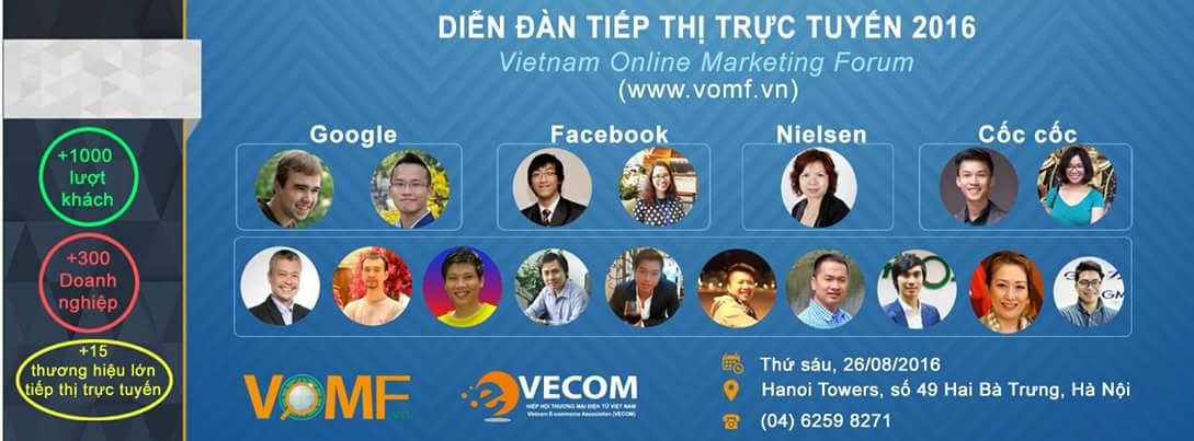 Diễn đàn tiếp thị trực tuyến 2016 lần đầu tổ chức quy mô tại Việt Nam