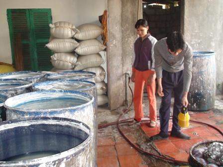 Ứng dụng công nghệ xử lý nước thải hộ sản xuất bún và giết mổ