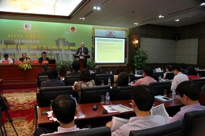Hội thảo đánh giá lò đốt chất thải công nghệ Nhật Bản