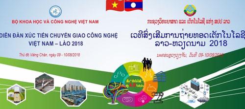 Diễn đàn xúc tiến chuyển giao công nghệ Việt Nam – Lào (TechConnect Việt Nam – Lào)