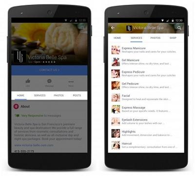 Facebook biến Fanpage thành trang mua sắm trực tuyến