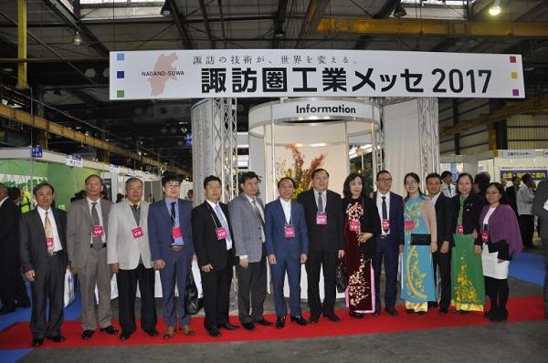 Hải Phòng: Đoàn công tác thành phố Hải Phòng tham gia triển lãm SUWA MESSE 2017 tại Nagano - Nhật Bản