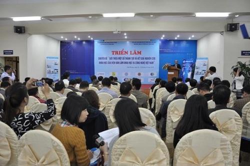 Hải Phòng: Triển lãm mini giới thiệu kết quả nghiên cứu khoa học của Viện hàn lâm KH&CN; Việt Nam