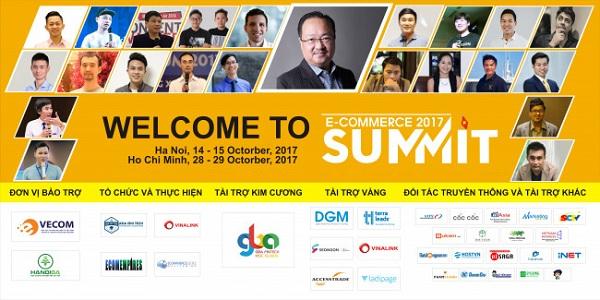 Hội nghị thượng đỉnh thương mại điện tử 2017 - eCommerce Summit