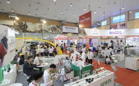 """Khai mạc Triển lãm về công nghệ sản xuất và công nghiệp hỗ trợ """"Vietnam Manufacturing Expo 2018"""""""