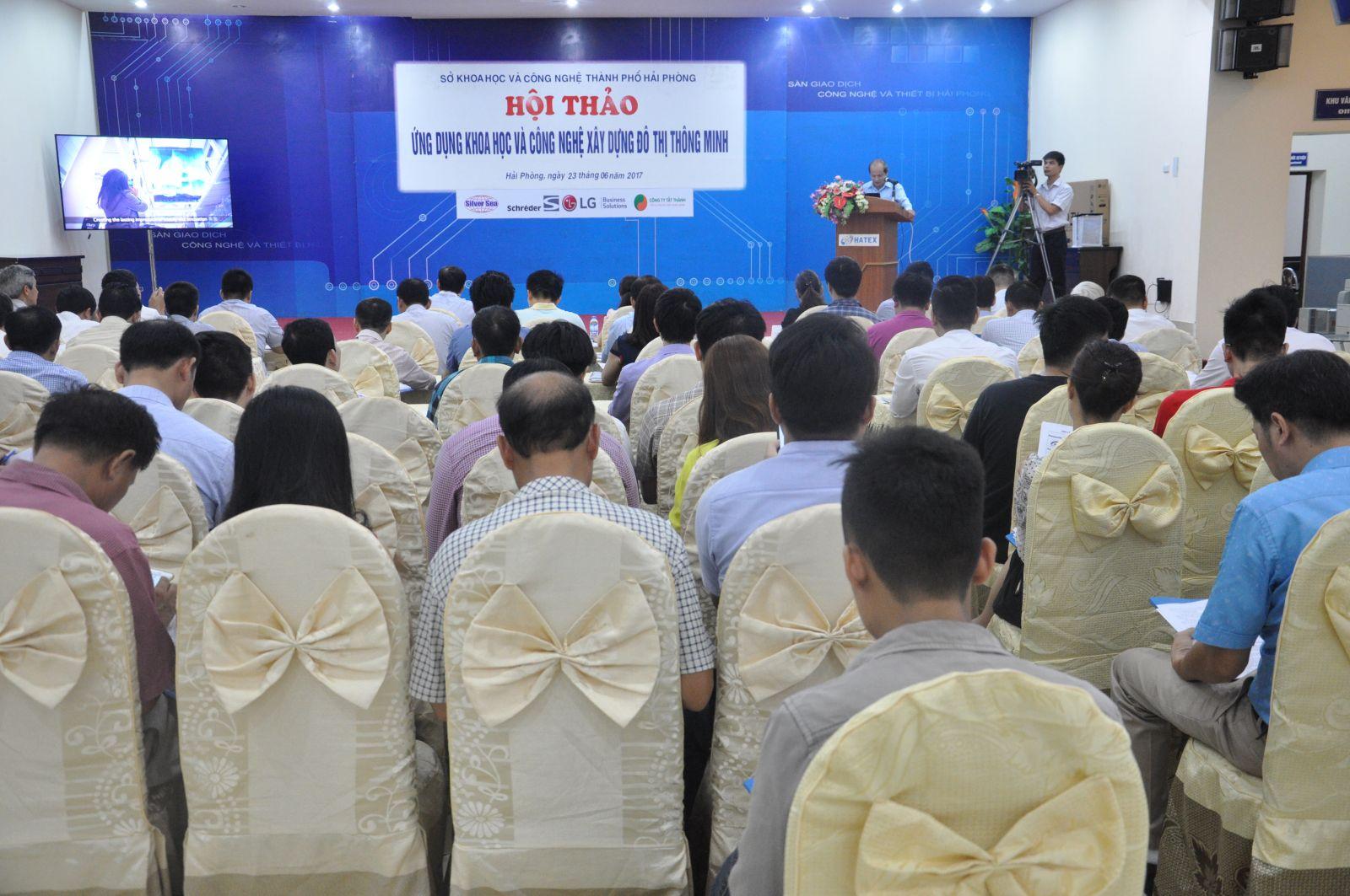 Sàn Giao dịch Công nghệ và Thiết bị Hải Phòng tổ chức hội thảo khoa học với chủ đề