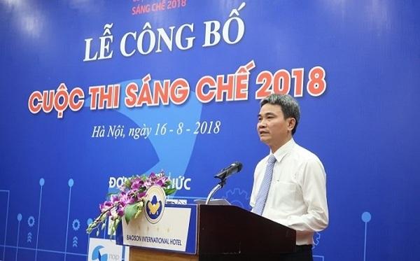 Thông báo về Cuộc thi Sáng chế năm 2018