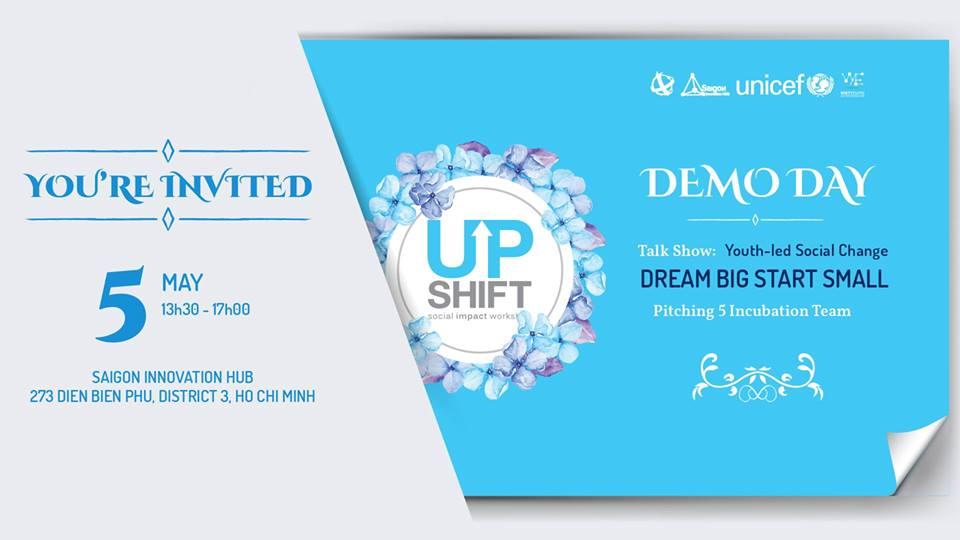 Triển lãm dự án UPSHIFT lần 3 - Demo day Upshift 3rd