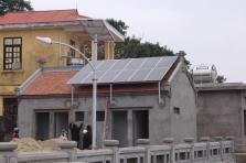 Ứng dụng điện mặt trời trong chiếu sáng