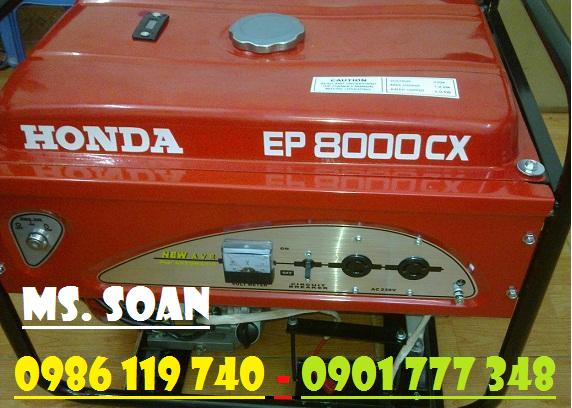 Máy phát điện Honda EP8000CX đề nổ