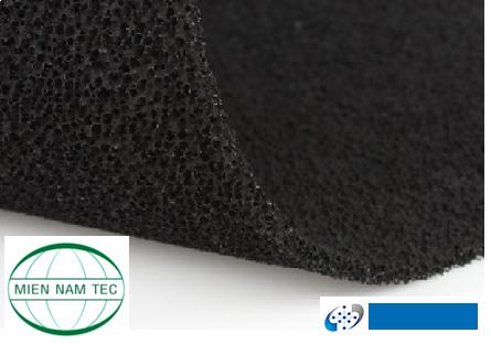 Tấm xốp carbon hoạt tính 10mm khổ 1mx2m