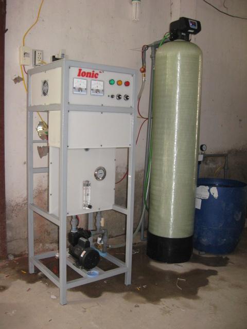 Hệ thống xử lý nước chăn nuôi bằng điện hóa Ionic - 250E