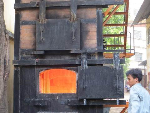 Cúp Vàng International Techmart Vietnam 2012: Lò đốt rác thải sinh hoạt không tiêu hao dầu đốt kèm